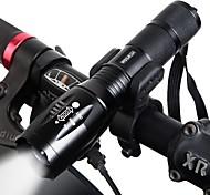 economico -Doppio LED Luci bici Torce LED Luce frontale per bici Fanale anteriore Bicicletta Ciclismo Rotazione a 360° Modalità multiple Super luminoso Portatile Solare 1000 lm Tipo batteria 18650 Bianco
