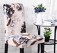 abordables -housse de chaise housse de chaise de salle à manger super fit extensible amovible lavable courte chaise de salle à manger housse de protection housse de siège pour hôtel / salle à manger / cérémonie