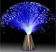 abordables -multicolore Ampoules LED fibre optique lampe lumière vacances mariage pièce maîtresse fibre optique Ampoules LED éclairage salon veilleuses nuit décoration