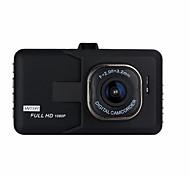 economico -1080p Visione notturna Automobile DVR 140 Gradi Angolo ampio 3 pollice Dash Cam con Rilevatore di movimento No Registratore per auto