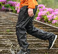 abordables -Homme Pantalon de randonnée imperméable Couleur unie Extérieur Etanche Respirable Séchage rapide Ultra léger (UL) Nylon Pantalons / Surpantalons Bas Noir Camping / Randonnée Pêche Escalade M L XL XXL