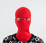 abordables -Cagoule Masque de protection contre la pollution Couleur unie Coupe Vent Chaud Séchage rapide Résistant à la poussière Vélo / Cyclisme Blanche Noir Jaune Spandex pour Homme Femme Adulte Camping