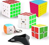 economico -Set Speed Cube 9 pcs Cubo magico Cube intuitivo QIYI QIYI-A 2*2*2 3*3*3 4*4*4 Cubi Anti-stress Cubo a puzzle Adesivo liscio Livello professionale Per videogiochi Per bambini Teen Per adulto Giocattoli