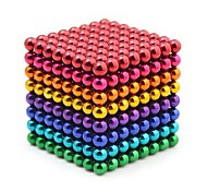 abordables -512 pcs 5mm Jouets Aimantés Boules Magnétiques Blocs de Construction Aimants de terres rares super puissants Aimant Néodyme Cube casse-tête Jouets Aimantés Magnétique Soulagement de stress et