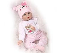 abordables -NPKCOLLECTION 22 pouce NPK DOLL Poupée Reborn Poupée Reborn Toddler Nouveau née réaliste Mignon cadeaux noël enfant avec vêtements et accessoires pour les cadeaux d'anniversaire et de festival des
