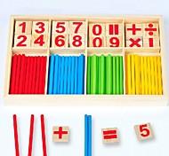 economico -Strumenti didattici Abaco Gioco educativo Interazione tra genitori e figli di legno 1 pcs Per bambini Giocattoli Regalo / Sviluppa creatività
