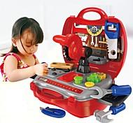 abordables -Jouets Bricolage Boîtes à Outils Créatif Interaction parent-enfant Enfant Préscolaire Jouet Cadeau 19 pcs