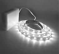 economico -ZDM® 1.5m Fili luminosi 300 LED 2835 SMD 8mm 1pc Bianco caldo Luce fredda Accorciabile Adatto per veicoli Auto-adesivo Batterie AA alimentate