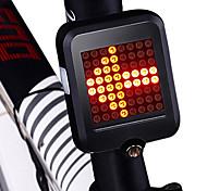 abordables -LED Eclairage de Velo Feux clignotants Eclairage de Vélo Arrière Eclairage sécurité / feu clignotant velo VTT Vélo tout terrain Vélo Cyclisme Imperméable Induction intelligente Portable Pliable