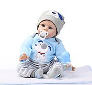 abordables -NPKCOLLECTION 24 pouce NPK DOLL Poupée Reborn Poupée Reborn Toddler réaliste Mignon Cadeau Tissu Membres en silicone 3/4 et corps rempli de coton cadeaux noël enfant avec vêtements et accessoires