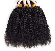 abordables -Lot de 3 Tissage de cheveux Cheveux Brésiliens Bouclé Extensions de cheveux humains Cheveux Naturel Rémy 100% faisceaux d'armure de cheveux remy 300 g Tissages de cheveux humains Extensions de / 8A