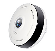 economico -Hiseeu P6 1.3 mp Videocamera IP Al Coperto Supporto 64 GB / CMOS / Senza filo / Android / SO iPhone / Sensore di movimento