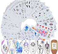 abordables -40 pcs Autocollants Manucure Manucure pédicure Créatif Décalques pour ongles Usage quotidien / Festival