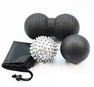 economico -Peanut Mobility Ball & Lacrosse Ball Set 3 pezzi Sport epp Yoga Esercizio e fitness rilassante allevia il dolore Massaggio colore casuale