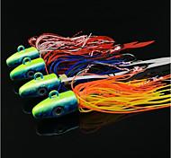 abordables -4 pcs leurres souples Poissons nageur / Leurre dur Affaissé Bass Truite Brochet Pêche en mer Pêche à la mouche Pêche d'appât
