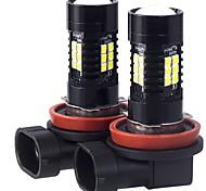 abordables -2pcs H9 / H11 / H8 Automatique Ampoules électriques 21 W SMD 3030 2100 lm 21 LED Feu Antibrouillard For Volkswagen / Toyota / Honda Odyssey / Fit / Civic Toutes les Années