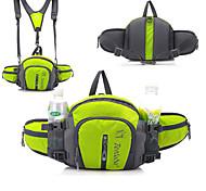 abordables -Sac à dos de randonnée Sac Banane Sacoche Banane Multifonctionnel Poids Léger Respirable Pluie Etanche Extérieur Camping / Randonnée Cyclisme / Vélo Extérieur Nylon Rouge Vert Bleu / Oui