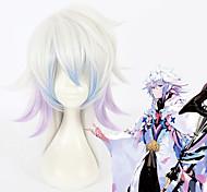 abordables -Destin / Grand ordre Merlin Perruques de Cosplay Tous 18 pouce Fibre résistante à la chaleur Perruque Anime