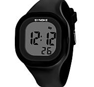 economico -SYNOKE Per donna Per uomo Orologio sportivo Orologio digitale Digitale Digitale Di tendenza Resistente all'acqua Calendario Cronografo / Silicone