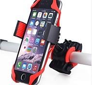 economico -Attacco cellulare per bici 360 rotante Per Bici da strada Mountain bike Ciclismo Plastica Gel di silice Nero Rosso