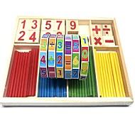 abordables -Motif géométrique Nombre Composé Bois-Plastique Bois / Bambou Enfant Élémentaire Garçon Fille Jouet Cadeau