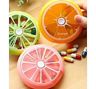 economico -Portapillole da viaggio / Vasi e bottiglie per dolci / Pill Caso PP (polipropilene) / ABS Accessori di emergenza Frutta