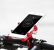 abordables -GUB® Monture de Téléphone Pour Vélo Ajustable Portable Antivol pour Vélo de Route Vélo tout terrain / VTT Vélo pliant Aluminum Alloy CNC iPhone X iPhone XS iPhone XR Cyclisme Bleu Rose Noir / Rouge