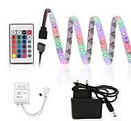 economico -ZDM® 2.5m Set luci 150 LED SMD2835 8mm 1 telecomando da 24Keys 1 adattatore 12V / 1A 1 set Colori primari Impermeabile Accorciabile Decorativo 100-240 V / IP65 / Auto-adesivo