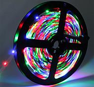 abordables -HKV® 5m LED bandes lumineuses RVB Tiktok Lights SMD 2835 8mm IP20 300LED ruban de diode flexible 12 V LED ruban LED bande pour maison flexible