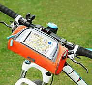 economico -Borsa per cellulare Sacca da manubrio bici 6 pollice Schermo touch Massima capacità Ompermeabile Ciclismo per Ciclismo iPhone X iPhone XR Rosa Nero Arancione / iPhone XS / iPhone XS Max