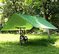 abordables -Abris pour Hamac Extérieur Respirabilité Vestimentaire Réutilisable réglable flexible Pliage Polyester pour 3-4 personne Chasse Plage Camping Noir Bleu Vert 300*300 cm