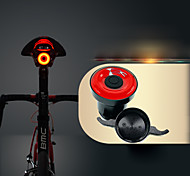 abordables -LED Eclairage de Velo Eclairage sécurité / feu clignotant velo Lumière de corne de vélo VTT Vélo tout terrain Vélo Cyclisme Imperméable Induction intelligente Invisible Poids Léger Lithium-ion 50 lm