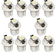 abordables -otolampara 10 pièces b8.3 5050 1smd 6000k led ampoule d'instrument de lumière de tableau de bord de voiture de couleur blanche