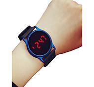 economico -Per donna Per uomo Orologio sportivo Orologio da polso Digitale Digitale minimalista Cronografo LCD Orologio casual / Due anni / Silicone