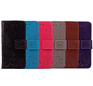 abordables -téléphone Coque Pour Samsung Galaxy Coque Intégrale Étui en cuir Etui folio A5 Porte Carte Clapet Mandala Couleur Pleine Flexible faux cuir