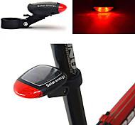abordables -LED Eclairage de Velo Eclairage de Vélo Arrière Eclairage sécurité / feu clignotant velo VTT Vélo tout terrain Vélo Cyclisme Imperméable Design nouveau Energie Solaire 100 lm Rouge Cyclisme / ABS