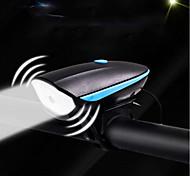 economico -Luci bici Luce frontale per bici Bike Horn Light Fanale anteriore Bicicletta Ciclismo Impermeabile Ruotabile Super luminoso Portatile Batteria ricaricabile 2200 lm Ricaricabile / Alimentazione Bianco