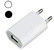 abordables -Chargeur Portable Chargeur USB Prise UE QC 3.0 1 Port USB 1 A 100~240 V pour Universel