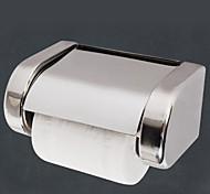 abordables -Porte Papier Toilette Nouveau design / Frais contemporain Acier inoxydable 1 pc Porte-papier toilette Montage mural