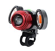 abordables -LED Eclairage de Velo Eclairage de Vélo Avant Phare Avant de Moto VTT Vélo tout terrain Vélo Cyclisme Imperméable Super brillant Durable Batterie Lithium-ion Rechargeable USB 800 lm Blanc Chaud Rouge