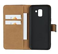 economico -telefono Custodia Per Samsung Galaxy Integrale Custodia in pelle Porta carte di credito J7 J7 (2016) J6 J5 J5 (2016) J4 J3 J3 (2016) J2 PRO 2018 J2 A portafoglio Porta-carte di credito Con supporto