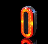 abordables -LED Eclairage de Velo Eclairage de Vélo Arrière Eclairage sécurité / feu clignotant velo LED VTT Vélo tout terrain Vélo Cyclisme Imperméable Portable Professionnel Transport Facile Lithium-ion