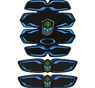 abordables -appareil de remise en forme rechargeable muscle abdominal smart ems affichage autocollant de muscle abdominal abdomen et taille mince ménage paresseux