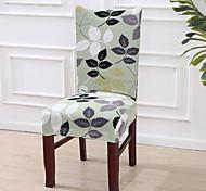 abordables -Housse de chaise Multicolore Imprimé Polyester Literie