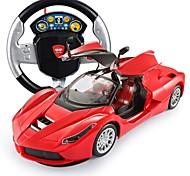 economico -Playsets veicoli Giochi Circuiti di corsa e macchinine giocattolo Controllo a distanza 1:14 Auto Drift Car 2.4G Per Per bambini Da bambino Regalo