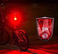 abordables -LED Eclairage de Velo Eclairage de Vélo Arrière Eclairage sécurité / feu clignotant velo Feu arrière VTT Vélo tout terrain Vélo Cyclisme Imperméable Portable Avertissement Largage rapide Batterie