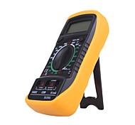 economico -vendita calda multimetro digitale xl830l voltmetro amperometro multimetro ac dc volt ohm tester lcd corrente di prova sovraccarico proteggere