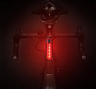 abordables -LED Eclairage de Velo Eclairage de Vélo Arrière Eclairage sécurité / feu clignotant velo Feu arrière VTT Vélo tout terrain Vélo Cyclisme Imperméable Portable Largage rapide Durable USB 1000 lm Blanc