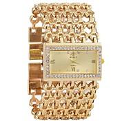 economico -Per donna Orologio braccialetto Orologio di diamanti Analogico Quarzo Donne Calendario Cronografo Orologi con incisioni / Un anno