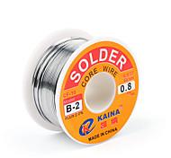 abordables -flux de fil à souder de haute qualité 63/37 colophane 2% bobine de fil à souder plomb fer à souder b-2 1.0mm 100g